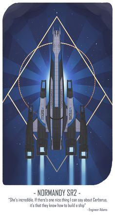 Normandy by shallete on DeviantArt Mass Effect Characters, Mass Effect Games, Mass Effect 1, Mass Effect Universe, Stargate, Mass Effect Tattoo, Cyberpunk, Mononoke Anime, Sr1