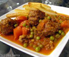 Spanish Stewed Meatballs Recipe - Albondigas Guisadas