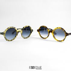 Essedue Sunglasses Handmade and Designed in Italy Circle Sunglasses, Round Sunglasses, Handmade Design