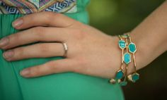 Turquoise Bangles - LaMaLu Boutique | Women's Online Clothing Boutique