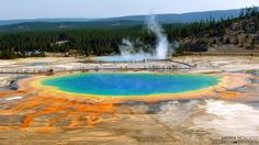 https://flic.kr/p/nAKRuL | Grand Prismatic Spring - Yellowstone National Park, Wyoming