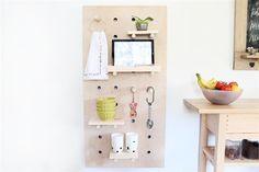Kitchen Pegboard_iPad Recipe Dock_01