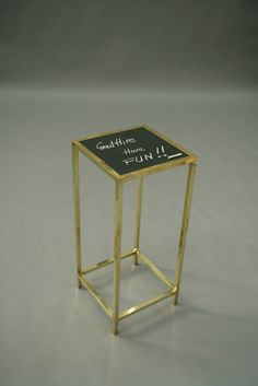 Great Hire.co.uk - Chalkboard table