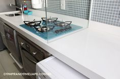 Quartzo Stone Branco | Minha Bancada da Cozinha