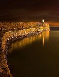 Pittenweems 400 year old pier, Scotland