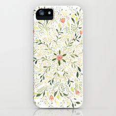 Flower Burst iPhone & iPod Case by Charmaine Olivia - $35.00