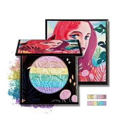 6 Colors Rainbow Highlighter Powder Eyeshadow Palette New Brand Women Blush Make Up Glow Kit Makeup Kit Highlighter Makeup, Contour Makeup, Eyeshadow Makeup, Eyeshadow Palette, Highlighters, Shimmer Bronzer, Glitter Eyeshadow, Minerals, Painting Art