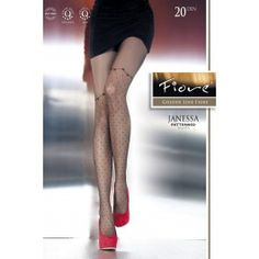 Collants Glamour Sexy Pin-Up Pois Effet Bas