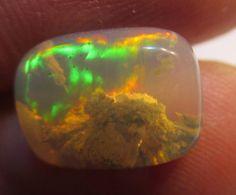 Stunning Natural Welo Aquairum  Opal Semi-Rough by Paleospark