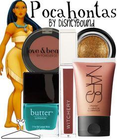 Pocahontas Makeup by Disneybound