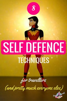 Travelling? Want to protect yourself? Not sure how? You need to learn these 8 self defense techniques right now! (Psst they're super easy!)
