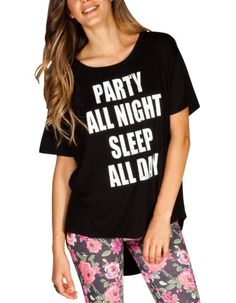 Sleep all day Wardrobe Makeover, Sleeping All Day, Graphic Tees, T Shirts For Women, Knitting, My Style, Tilt, Clothes, Tanks