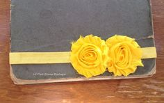 YELLOW BABY Headbands Baby Headband Infant by LilPinkGoose on Etsy, $5.95