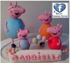 Topo bolo da Peppa Pig