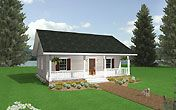 maybe the best one - House Plan ID: chp-16814 - COOLhouseplans.com - 864 sq ft