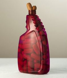 Food Photography by Per Johansen | Hot Dogs in a bottle - #food #art #photography