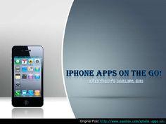 i-phone-on-the-go by Mashii Hajim via Slideshare