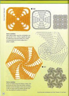 crochet motifs + chart