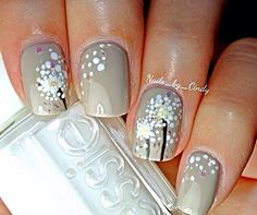 Dandelion | Nail Art