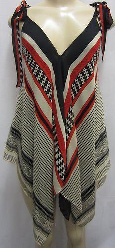 Scarf tunic top