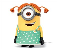 despicable me 2 stuart Girl Minion  A Cute Collection Of Despicable Me 2 Minions | Wallpapers, Images & Fan Art