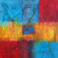 Les Zarts de Béné – Acrylique 40 x 40 cm Expositions, Les Oeuvres, Painting, How To Paint, Painting Art, Paintings, Painted Canvas, Drawings
