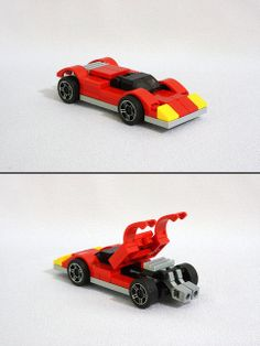 LEGO Hot Wheels Ferrari 512M | Flickr - Photo Sharing!