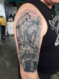 Have my warrior tatoo done today