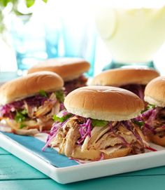 This mouthwatering and spicy pulled pork sandwich makes a hearty meal. Get the recipe!