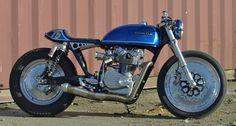 """MOTORCULT"": Alonze Customs CB500t Cafe Racer"