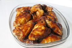 BBQ Chicken Wings Recipe with homemade spicy barbecue sauce! This recipe is great for impressing friends. Bbq Chicken Wings, Bbq Wings, Barbecue Chicken, Chicken Wing Recipes, Barbecue Sauce, Recipe Collection, Independence Day, Spicy, Homemade