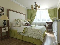 Уютная спальня от CONCEPTDESIGNGROUP: интерьер, квартира, дом, спальня, эклектика, 10 - 20 м2 #interiordesign #apartment #house #bedroom #dormitory #bedchamber #dorm #roost #eclectic #10_20m2 arXip.com