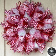 Deco mesh, Deco mesh wreaths and