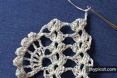 diagrams The steps below will help you learn to read crochet diagrams. Crochet Dragonfly Pattern, Irish Crochet Patterns, Crochet Symbols, Granny Square Crochet Pattern, Crochet Diagram, Crochet Chart, Crochet Blanket Patterns, Crochet Designs, Free Crochet