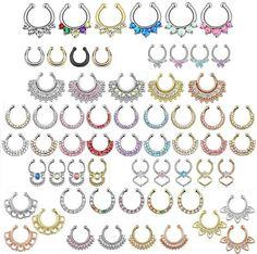 25 Ideas For Piercing Septo Fake Piercing Plug, Tragus Piercings, Body Piercings, Peircings, Piercing Tattoo, Septum Ring, Industrial Jewelry, Tragus Earrings, Body Jewellery