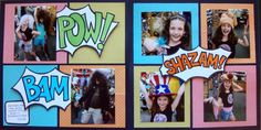 Scrapbooking Ideas Inspired by Superhero and Comic-Book Designs   Michelle Houghton   Get It Scrapped