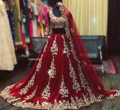 Asian Bridal Dresses, Pakistani Wedding Outfits, Indian Bridal Outfits, Pakistani Bridal Wear, Pakistani Wedding Dresses, Indian Dresses, Punjabi Wedding, Prom Dresses, Dress Prom
