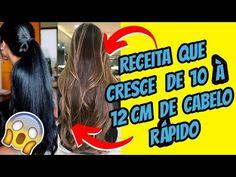 🔥 Receita Caseira para Crescer o Cabelo MUITO RÁPIDO 🔥😱 - YouTube Hair Remedies For Growth, Crescendo, Healthy Skin, My Hair, Long Hair Styles, Youtube, Beauty, Hair Growing Recipes, Grow Hair