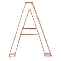 Copper Alphabet Letter- could wrap ribbon round for uni room Copper Bedroom, Gold Bedroom, Bedroom Decor, Bedroom Ideas, Bedroom Vintage, Bedroom Inspiration, Dream Bedroom, Design Bedroom, University Rooms