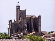 La collégiale Saint-Étienne de Capestang. Languedoc-Roussillon