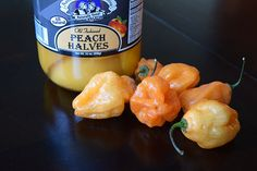 Peach Habanero Wing Sauce