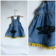 Vintage LIttle Girls Dress-Vintage Levis by WindingRoadVintage