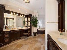 Bathroom of luxury home in Naples, Florida