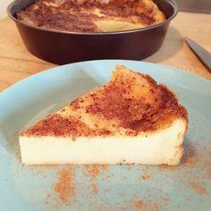 """Cette belle découverte porte le nom de """"Gâteau Cuajada"""". C'est une sorte de flan Espagnol aromatisé à la cannelle. Un vrai délice."""
