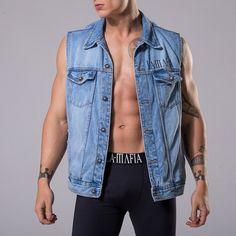 Colete Jeans Zero Um @ La.Mafia - Lamafia