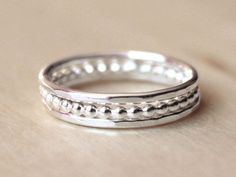 Stackable Rings Unique Bridesmaids Gift