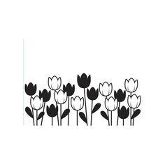Darice Embossing Folder - Spring Tulips, 4-1/2 x 5-3/4 inches