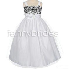 Elegant Ball Gown Spaghetti Straps Sleeveless Tea-length Applique and Ruffles Tulle Flower Girl Dress - Fannybrides.com