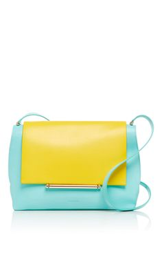 Calf Leather Envelope Crossbody Bag by DELPOZO Now Available on Moda Operandi