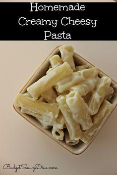 Creamy Cheesy Pasta Recipe